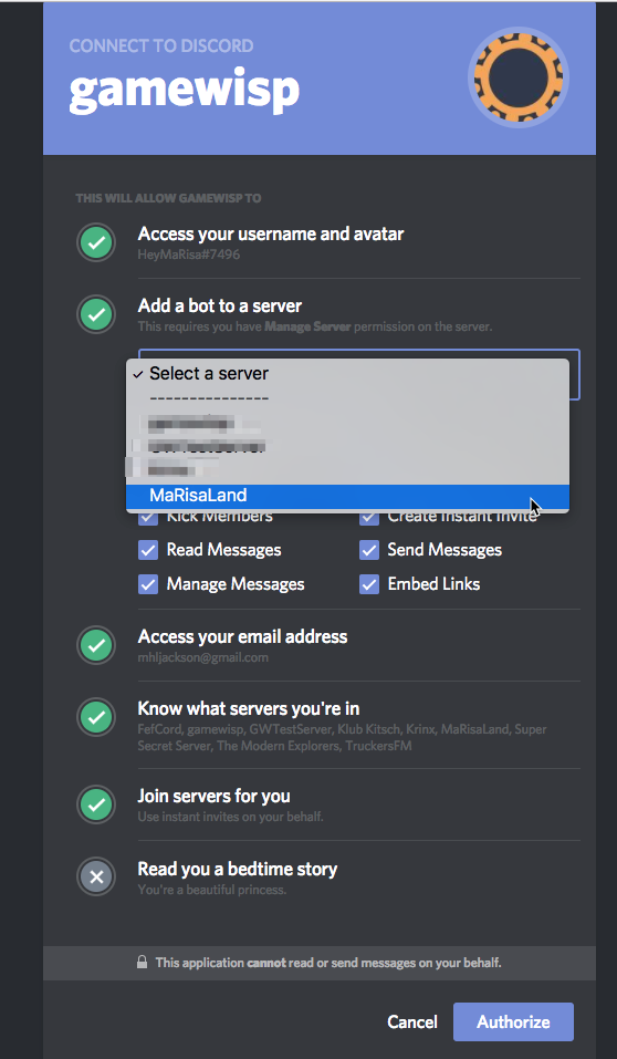 Discord -- Re-Link and Setup Discord to Fix Issues – GameWisp